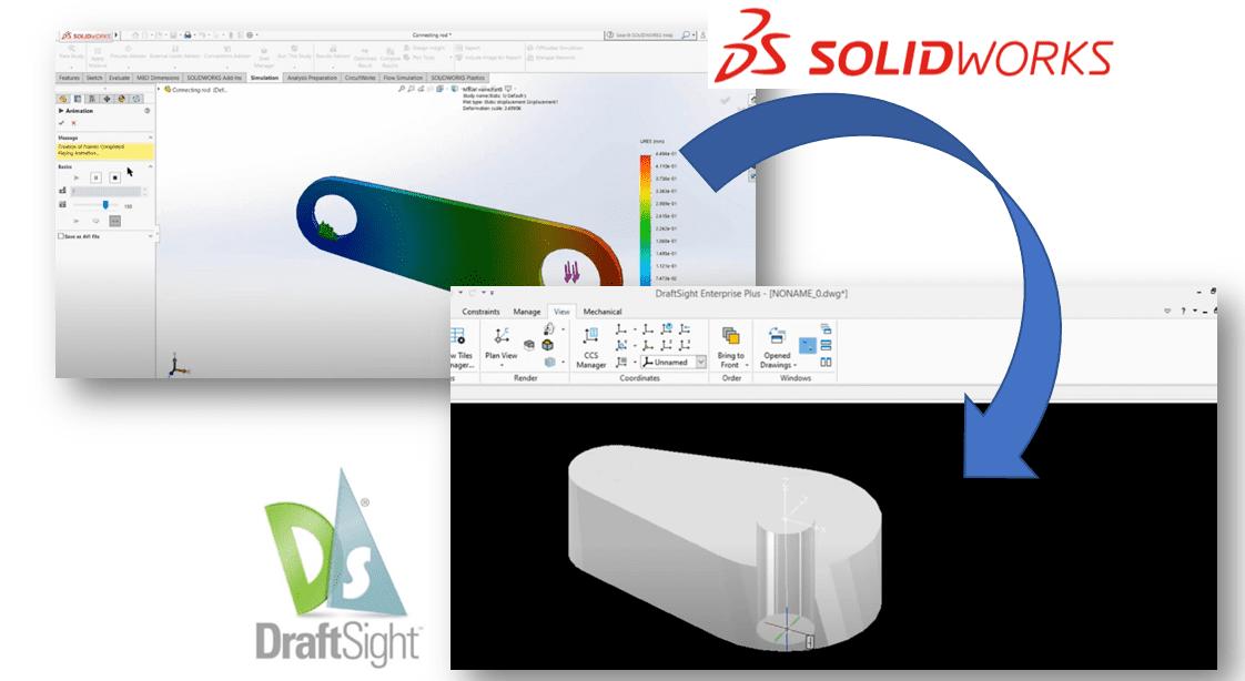 Integração SolidWorks Draftsight